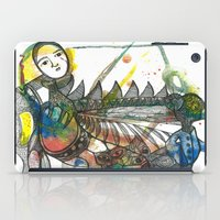 wings iPad Cases featuring Wings by Dawn Patel Art