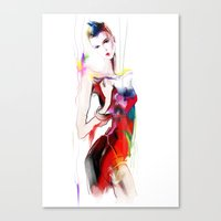 carnival Canvas Prints featuring carnival by tatiana-teni