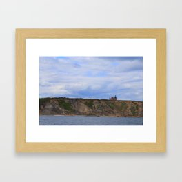 Block Island Lighthouse Framed Art Print