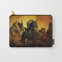 The Dark Unicorn Carry-All Pouch