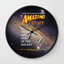 Amazing Stuff! Wall Clock