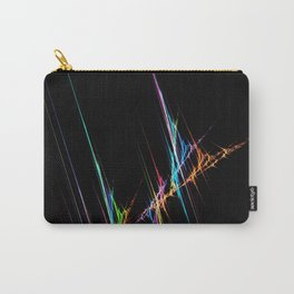 Black  Background with rainbow Pattern cutest Carry-All Pouch