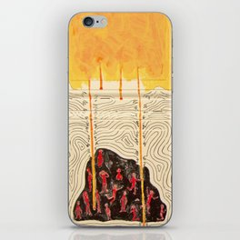 Gimme Your Lunch Money iPhone Skin