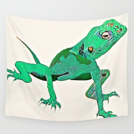 Gecko Wall Tapestry