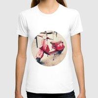 vespa T-shirts featuring vespa by iokk