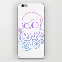 cthulu iPhone & iPod Skins featuring Call me Cthulu  by KickPunch