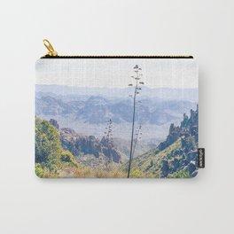 Vibrant Desert Landscape Carry-All Pouch
