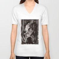 predator V-neck T-shirts featuring Predator by Stephanie Nuzzolilo