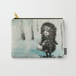 Hedgehog in the fog Carry-All Pouch