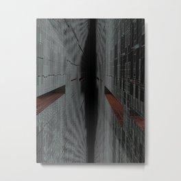 Trench Run-Abyss 2 Metal Print