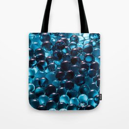 Blue Marbles Tote Bag