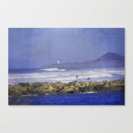 Newport Oregn - In The Distance Canvas Print