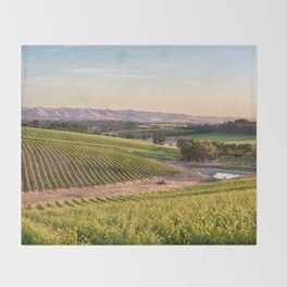 McLaren Vale Magic Throw Blanket