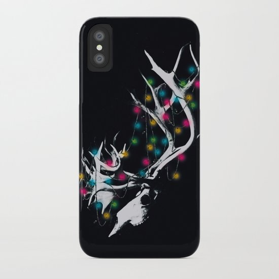 RUDOLPH THE REINDEER  iPhone Case