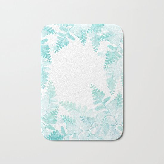 Ferns Jungle Bath Mat