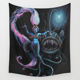 Goddess in the Deep Wall Tapestry
