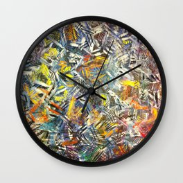 When Zebra's Endorse Bubblegum  Wall Clock