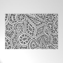 Doodle 9 Welcome Mat