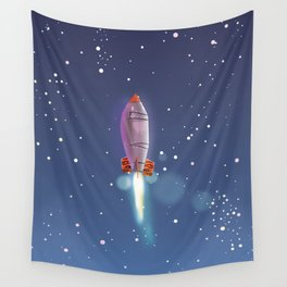 Lift off! Wall Tapestry
