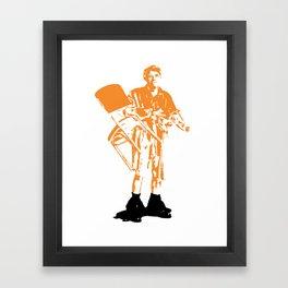 Jerk Framed Art Print