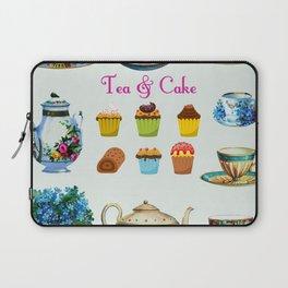 Tea & Cake Laptop Sleeve