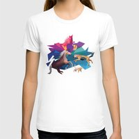 low poly T-shirts featuring low poly animals by sofiefatale