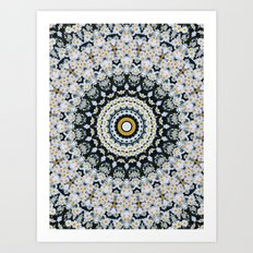 Just Because Nothingness Mandala Art Print