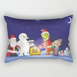 'Tis the Reason for the Season Rectangular Pillow