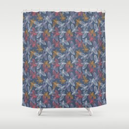 Poppy Complement Shower Curtain