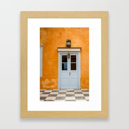 The Way to Greece  Framed Art Print