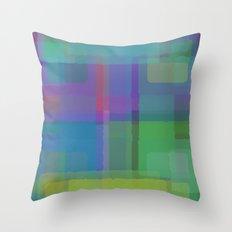 Squares#2 Throw Pillow