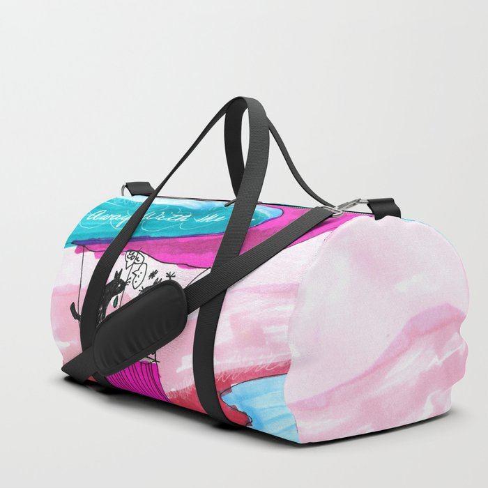 FLY AWAY WITH ME Duffle Bag