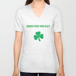 Irish for the day Unisex V-Neck