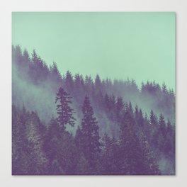 Adventure Awaits Forest Canvas Print