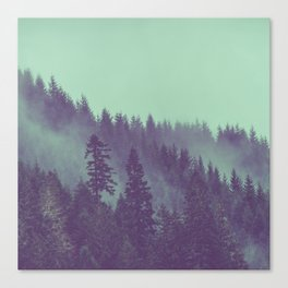Adventure Awaits Forest Canvas Print