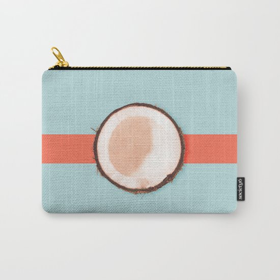 Coconut Carry-All Pouch