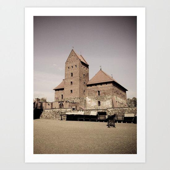 Trakai castle/ 2  Art Print