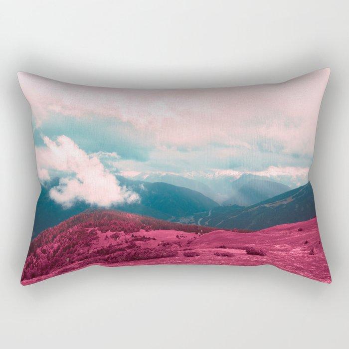 Leave Behind Rectangular Pillow
