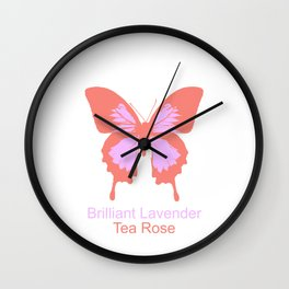 Ulysses Butterfly 7 Wall Clock