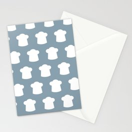 chef hat pattern Stationery Cards