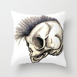 Punk Isn't Dead Throw Pillow