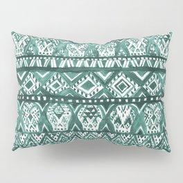 AZTECHIE Watercolor Skull Pattern Pillow Sham
