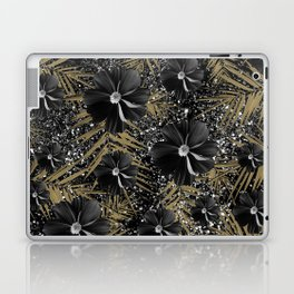 Tropical Diamond Flowers #2 #shiny #chic #floral #palms #decor #art #society6 Laptop & iPad Skin