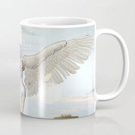 Wonderful fairy  on the rock Coffee Mug