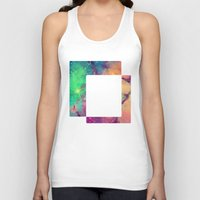 decal Tank Tops featuring Space Decal by artii