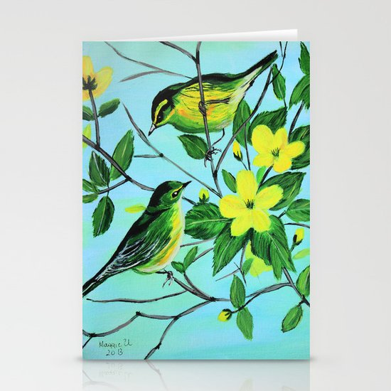 Thinking of spring  Stationery Cards