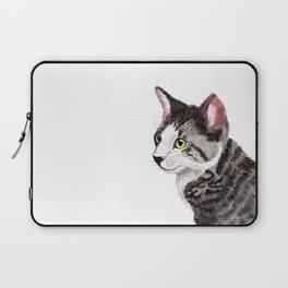 Ollie the Tabby Cat Laptop Sleeve