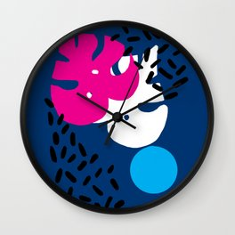 Monstera Wall Clock