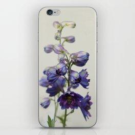 Delphinium iPhone Skin