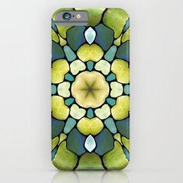 Artdeco Greenery Pattern Toile de Jouy iPhone Case